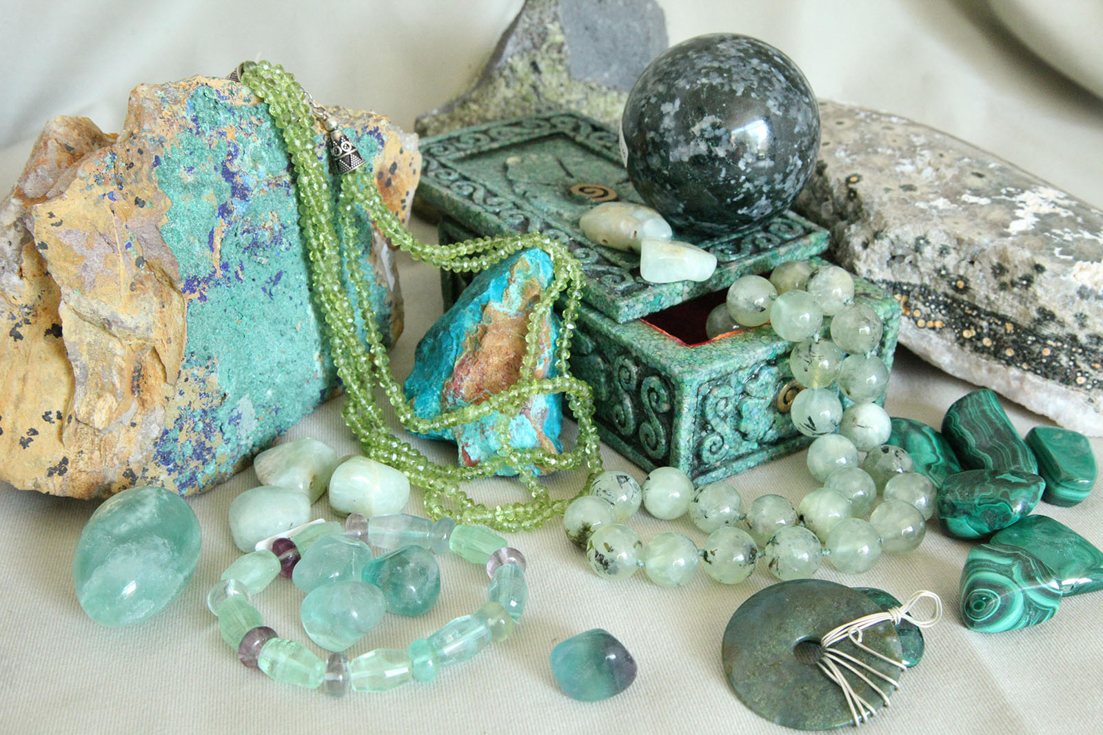 verde energia delle pietre